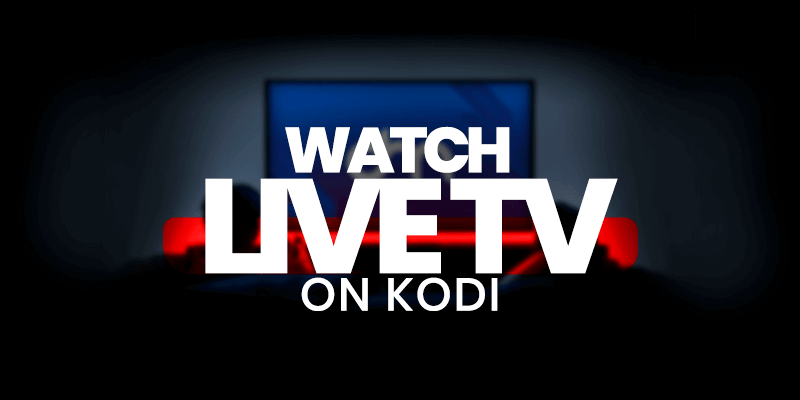 live tv on kodi